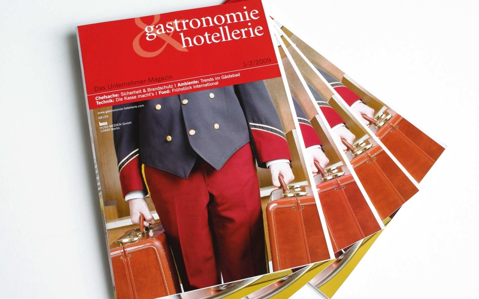 Gastronomie & Hotellerie Zeitschriftengestaltung Relaunch
