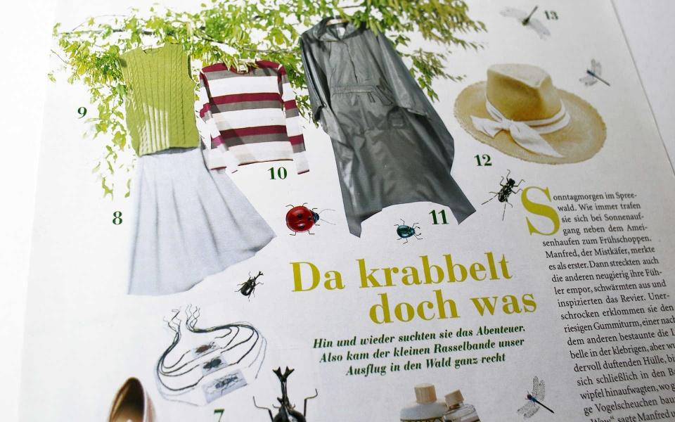 Amica Zeitschriftendesign Grafik Design
