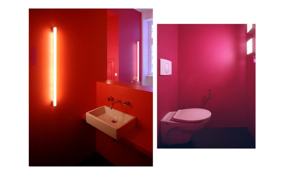 Buerohaus Farbgestaltung Wandgestaltung Berlin