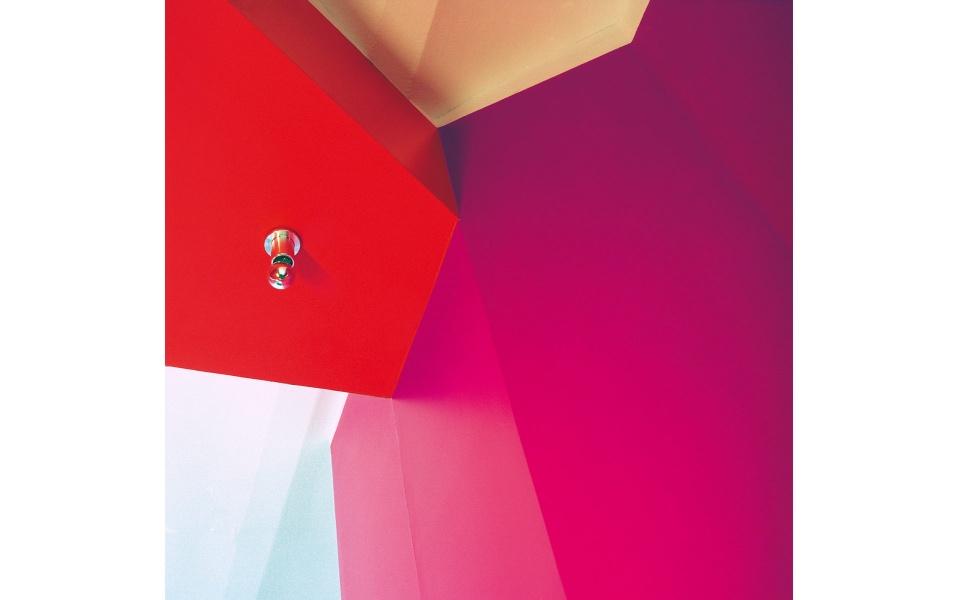 Farbgestaltung Farbstruktur Buerohaus
