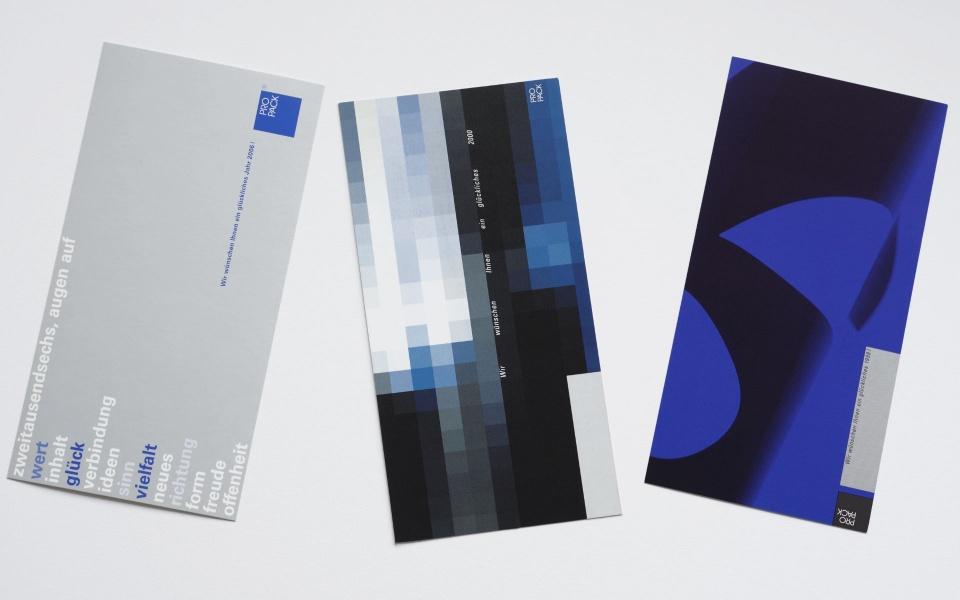 Propack Postkarten Grafik Design Berlin
