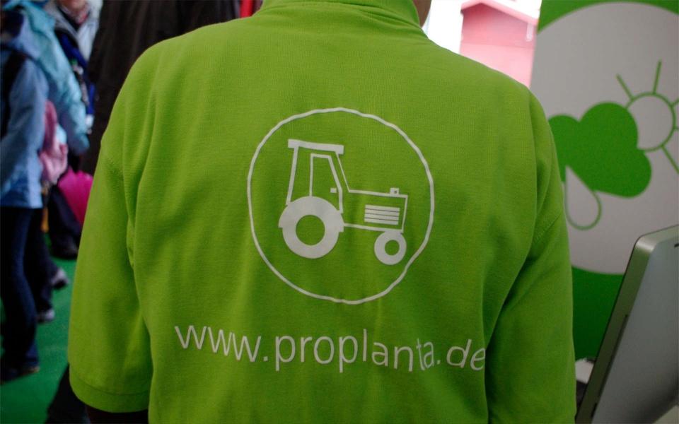 Proplanta Ausstellungen Messen Logoentwicklung