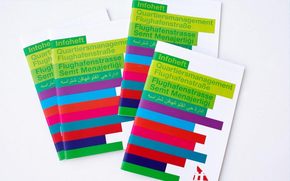 QM Flughafenstrasse Berlin Broschuere