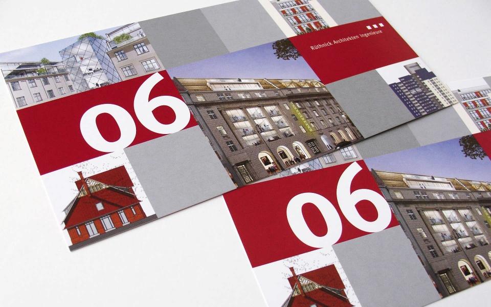 Ruethnik Architekten Postkarten Gestaltung