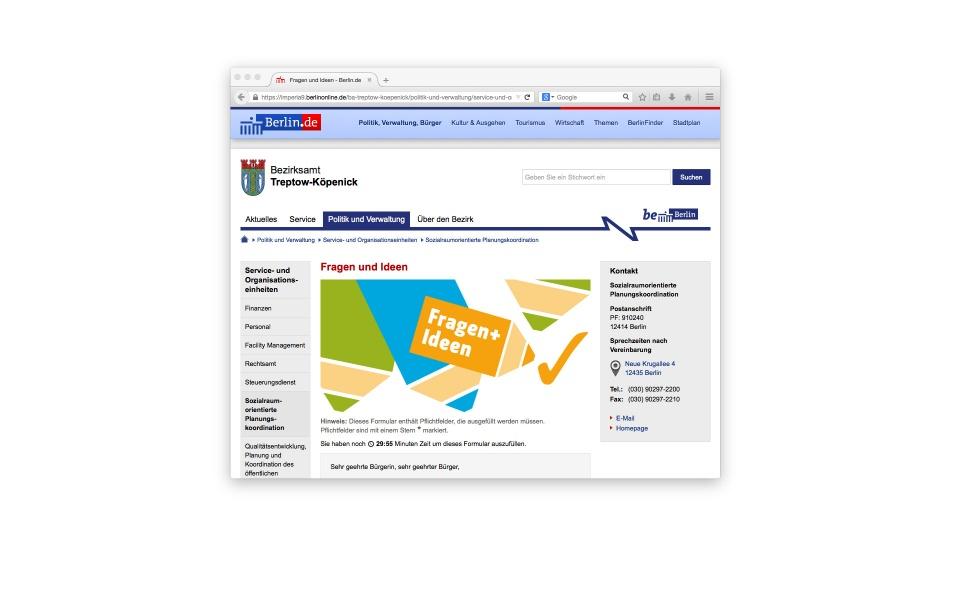 Sozialraumorientierte Planungskoordination Web Icons Design Piktogramme
