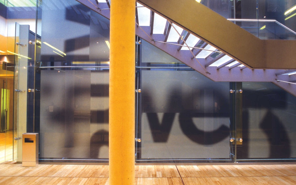 Stilwerk Folienbeschriftung Leitsystem Berlin