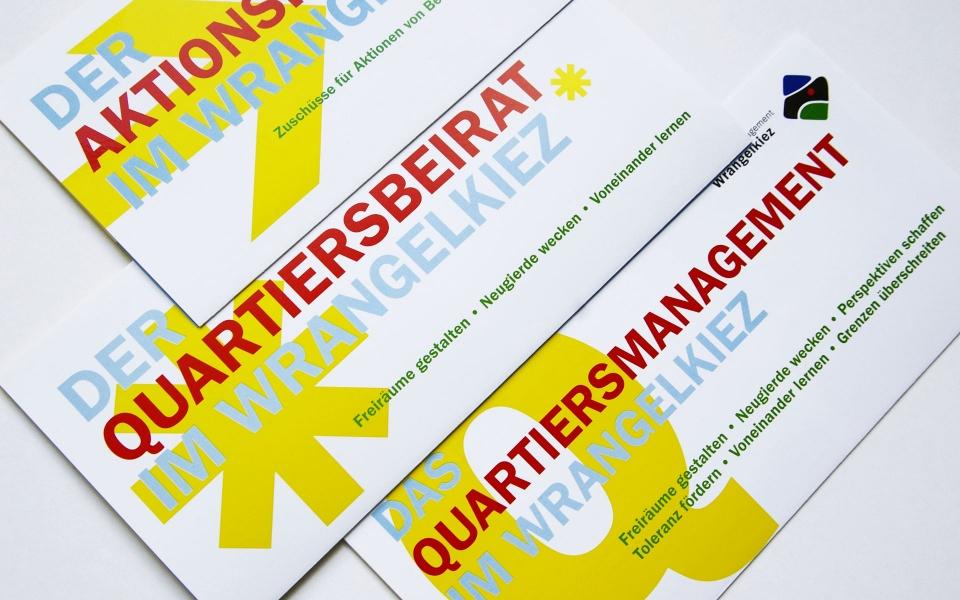 Quartiersbuero Wrangelkiez Broschuere Faltblatt Berlin
