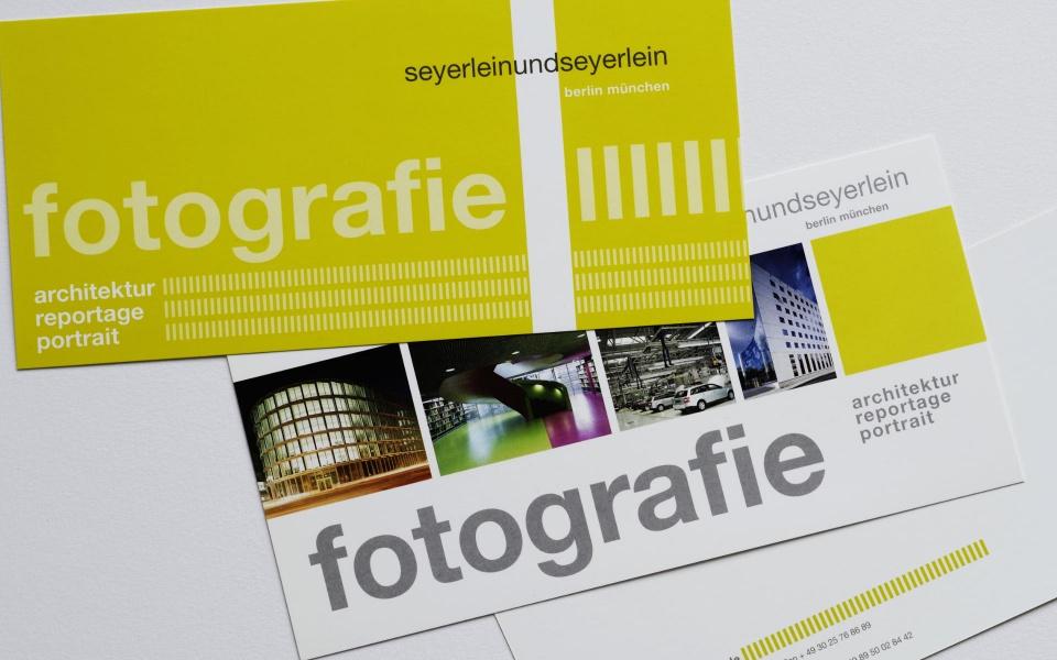 seyerlein fotografie Postkarten Grafik Design Visitenkarten