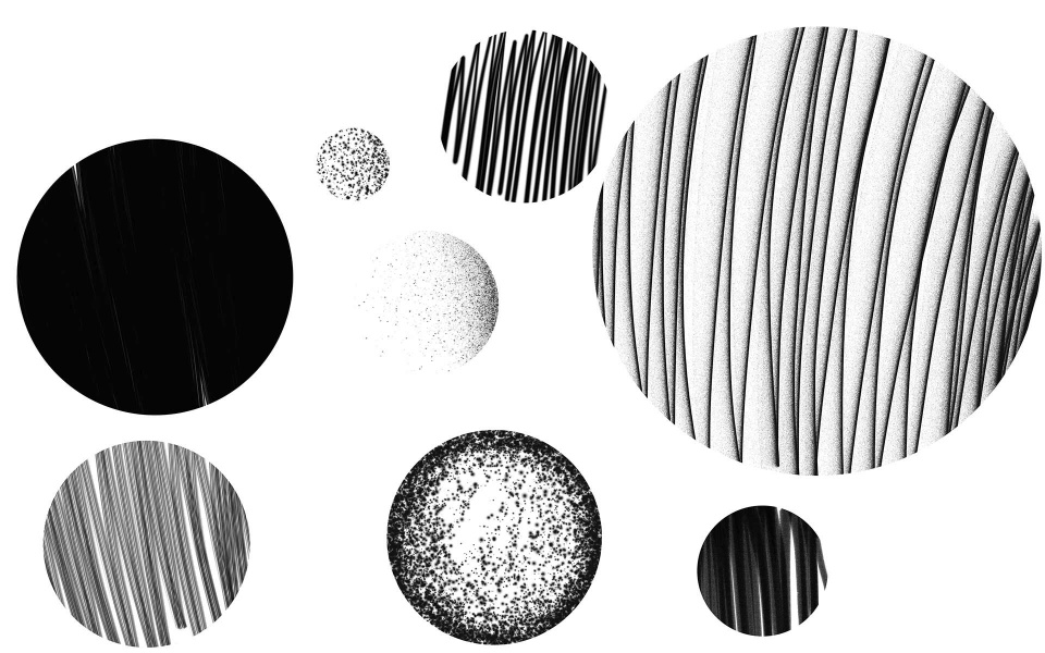 Planeten Grafik Design Berlin
