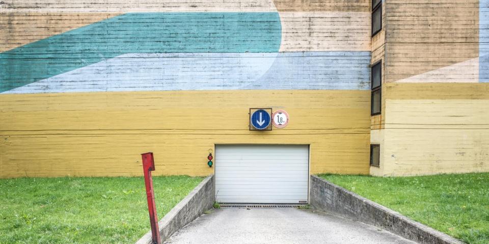 Leitsysteme Parkgarage Garage Tiefgarage Orientierung Beschilderung