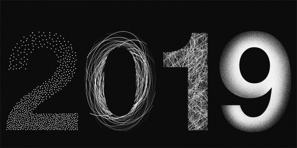Neujahrskarte UV2 Designbuero Berlin Grafik Design
