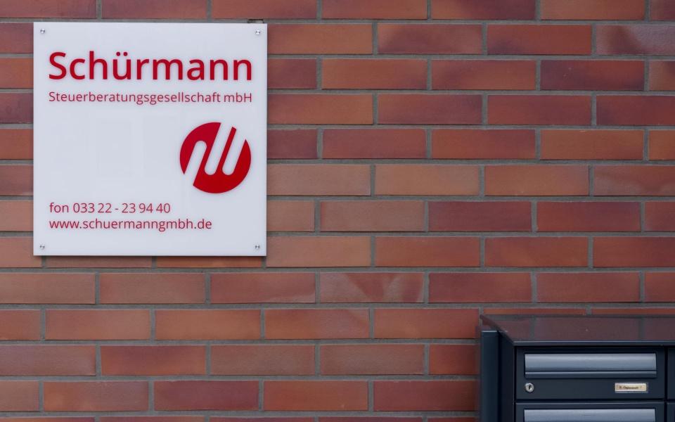 Schuermann Folien Orientierungssystem Leitsystem Wegweissystem Dallgow