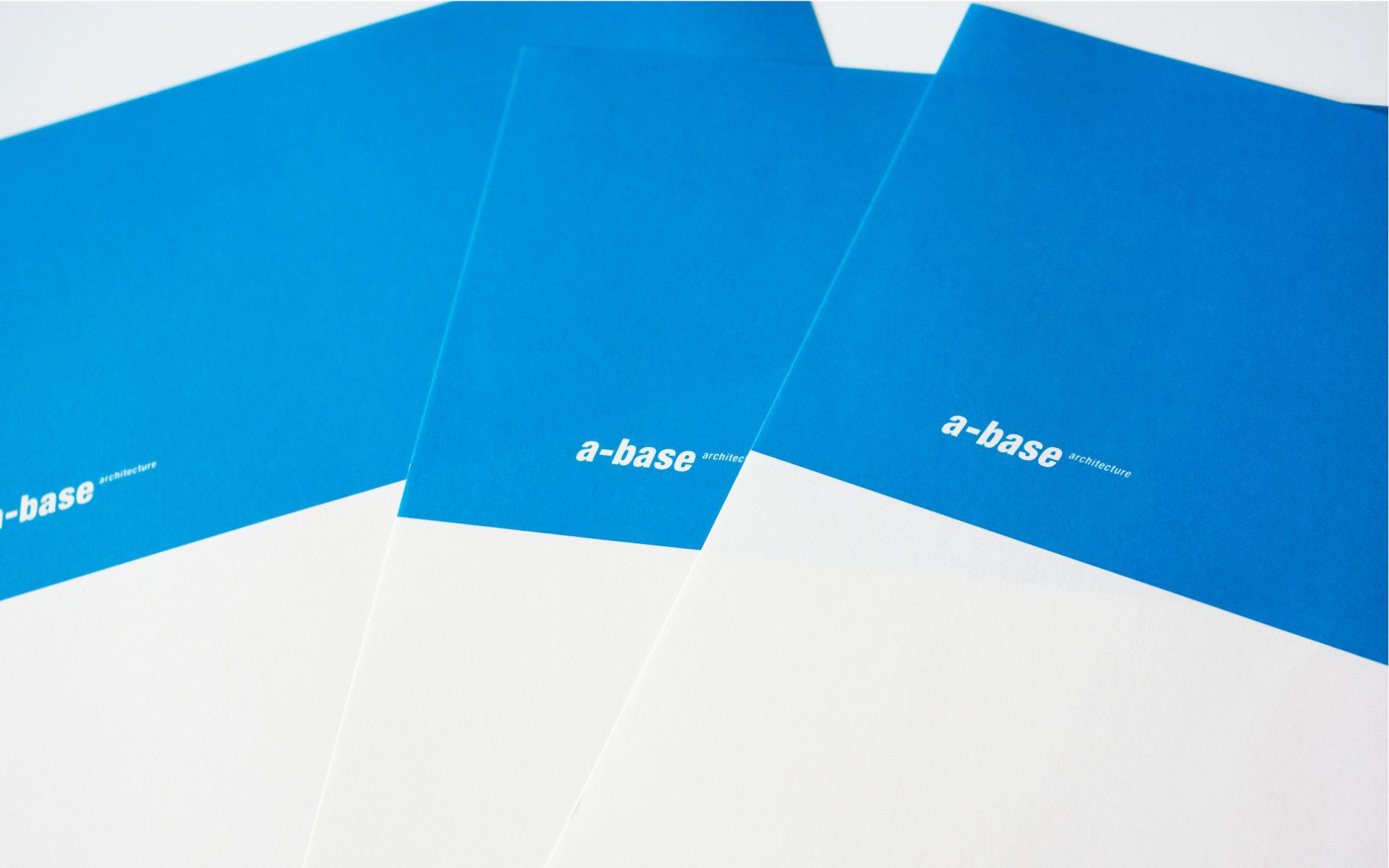 A-Base Architekten Logo Briefbogen Design Berlin