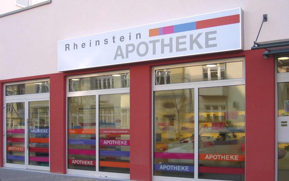 Apotheke Beschilderung Orientierungssystem Berlin