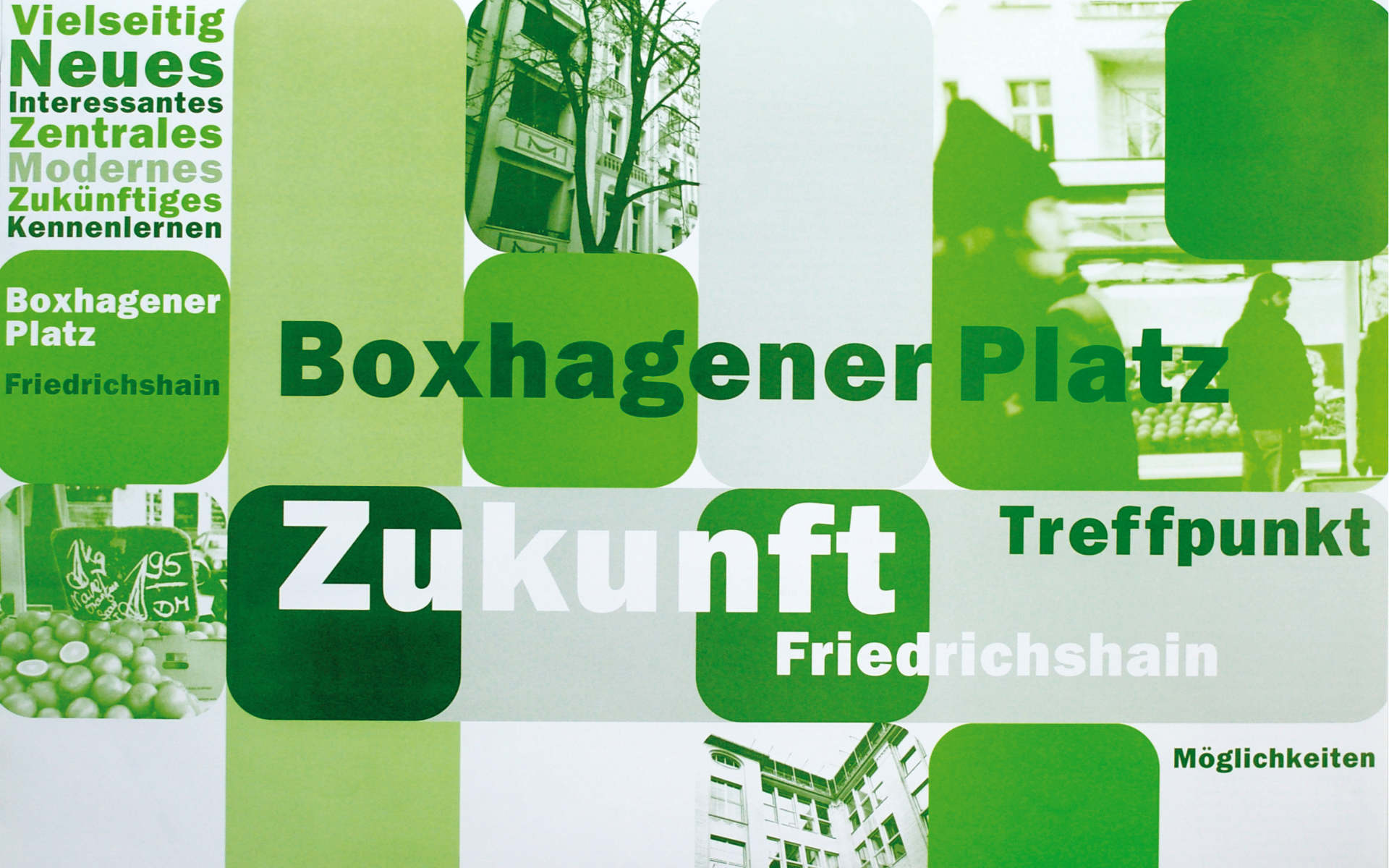 Boxhagenerplatz Quartiersmanagement Plakatgestaltung Plakat
