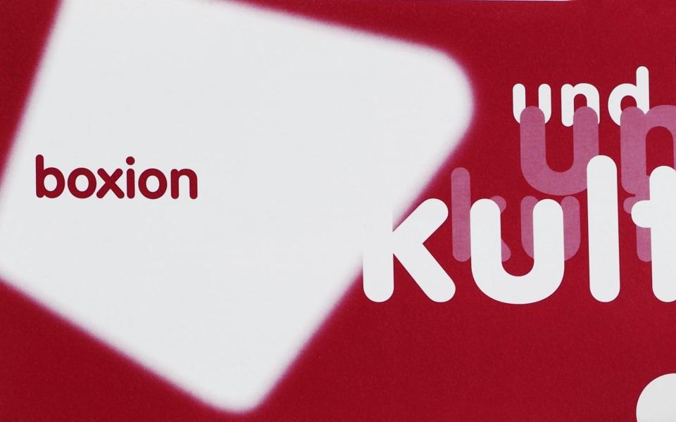 Boxion Logo Grafik design Erscheinungsbild