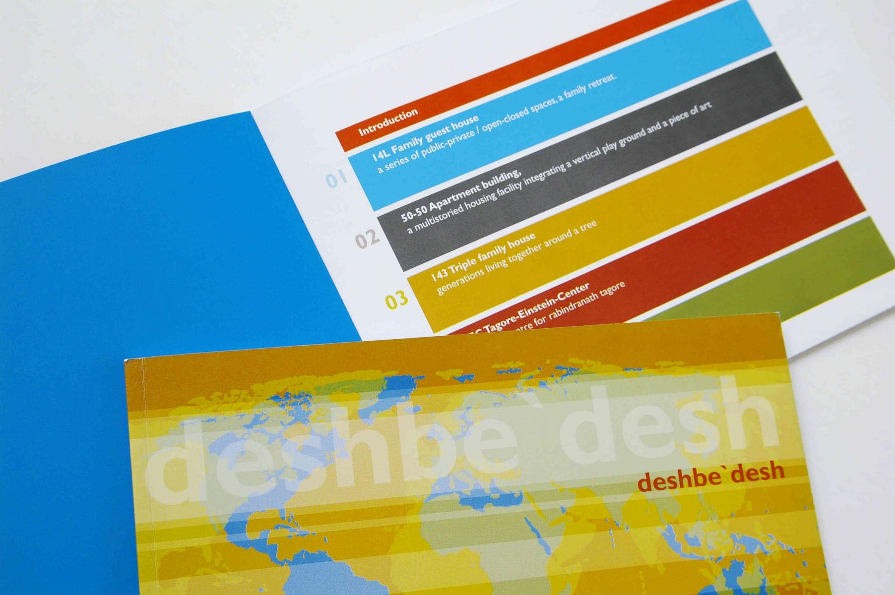 Deshbedesh Goethe Institut Grafik Design Katalog Layout
