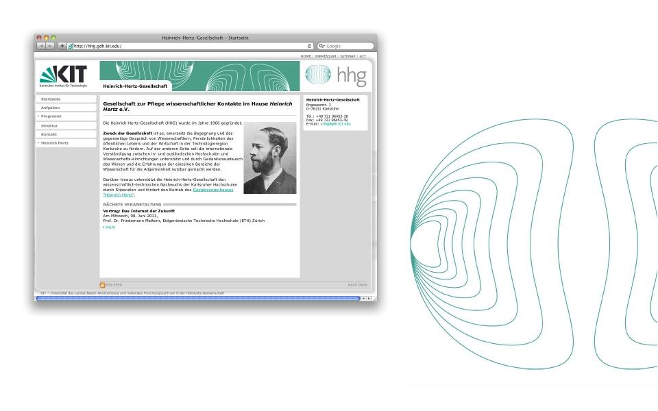 Heinrich Hertz Gesellschaft Logoentwicklung Corporate Identity