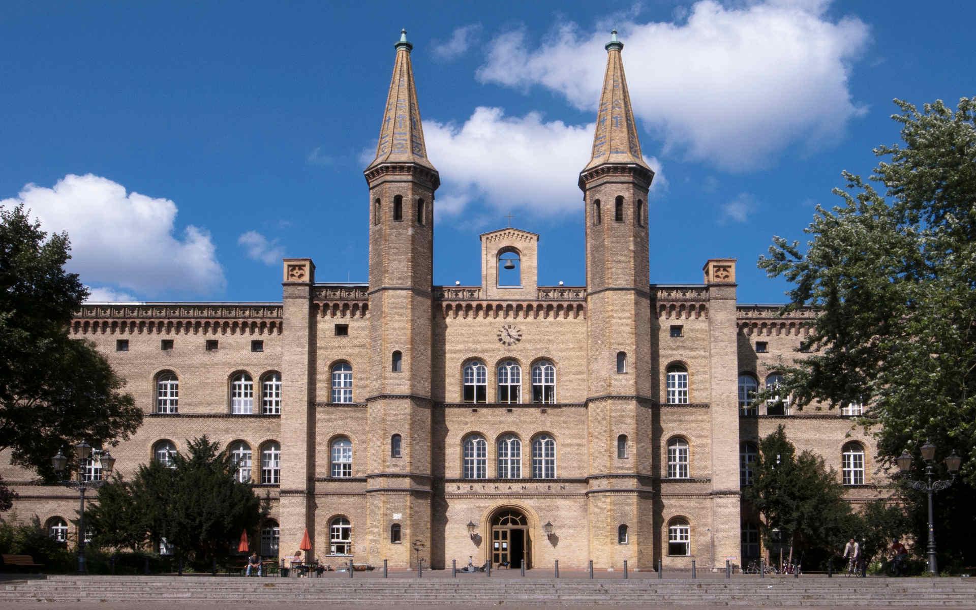 Kunstquartier Bethanien Berlin Orientierungssystem