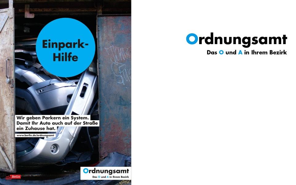 Ordnungsamt Plakate Poster Grafik Design