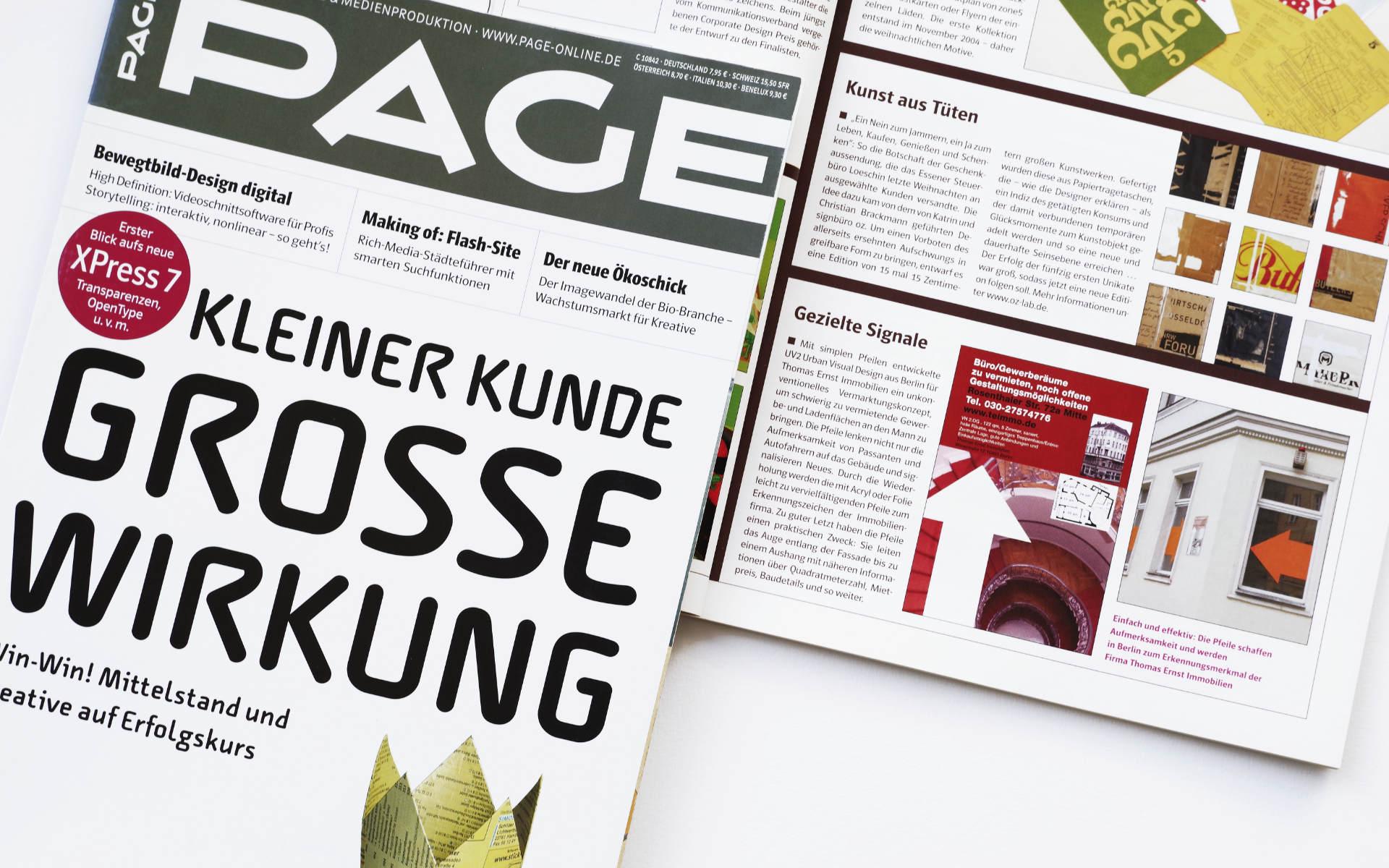 Page Design Beitrag