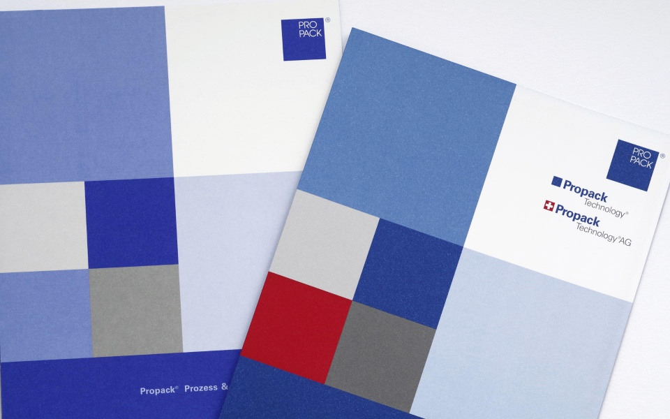 Propack Image Brochuere Corporate Design