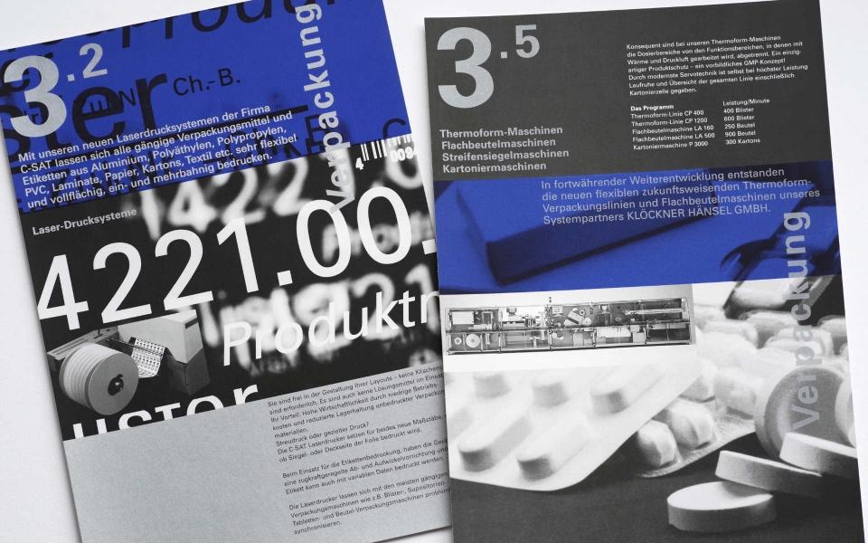 Propack Imagebroschuere Design Berlin