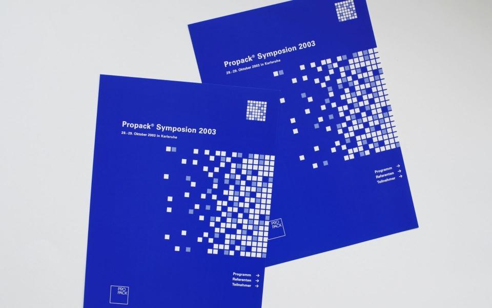 Propack Kongressmappe Corporate Design