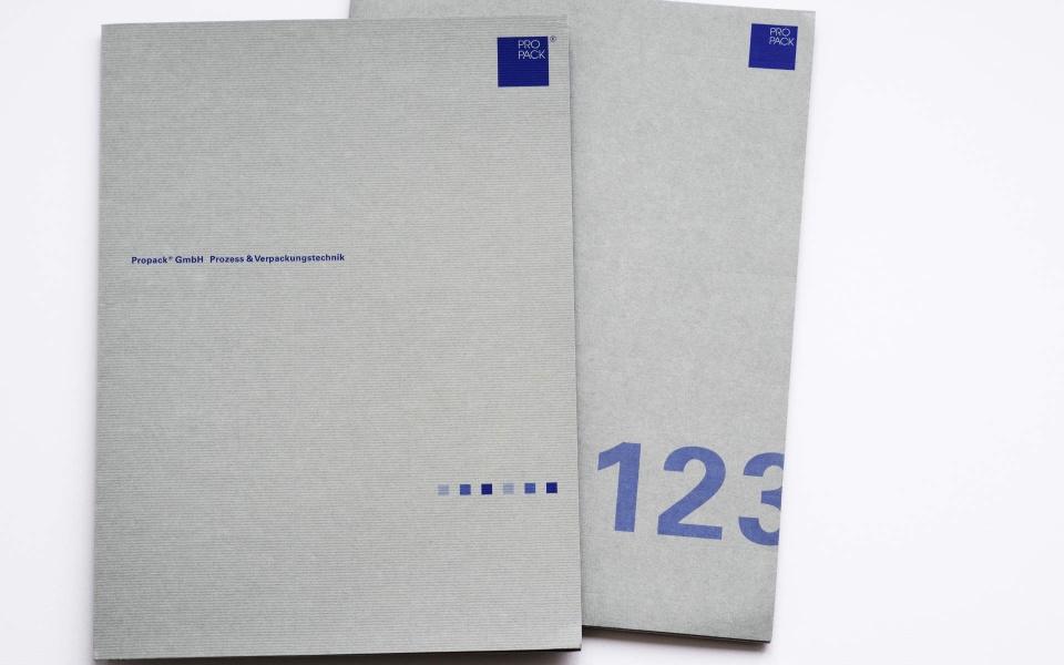 Propack Angebotsmappen Gestaltung Design