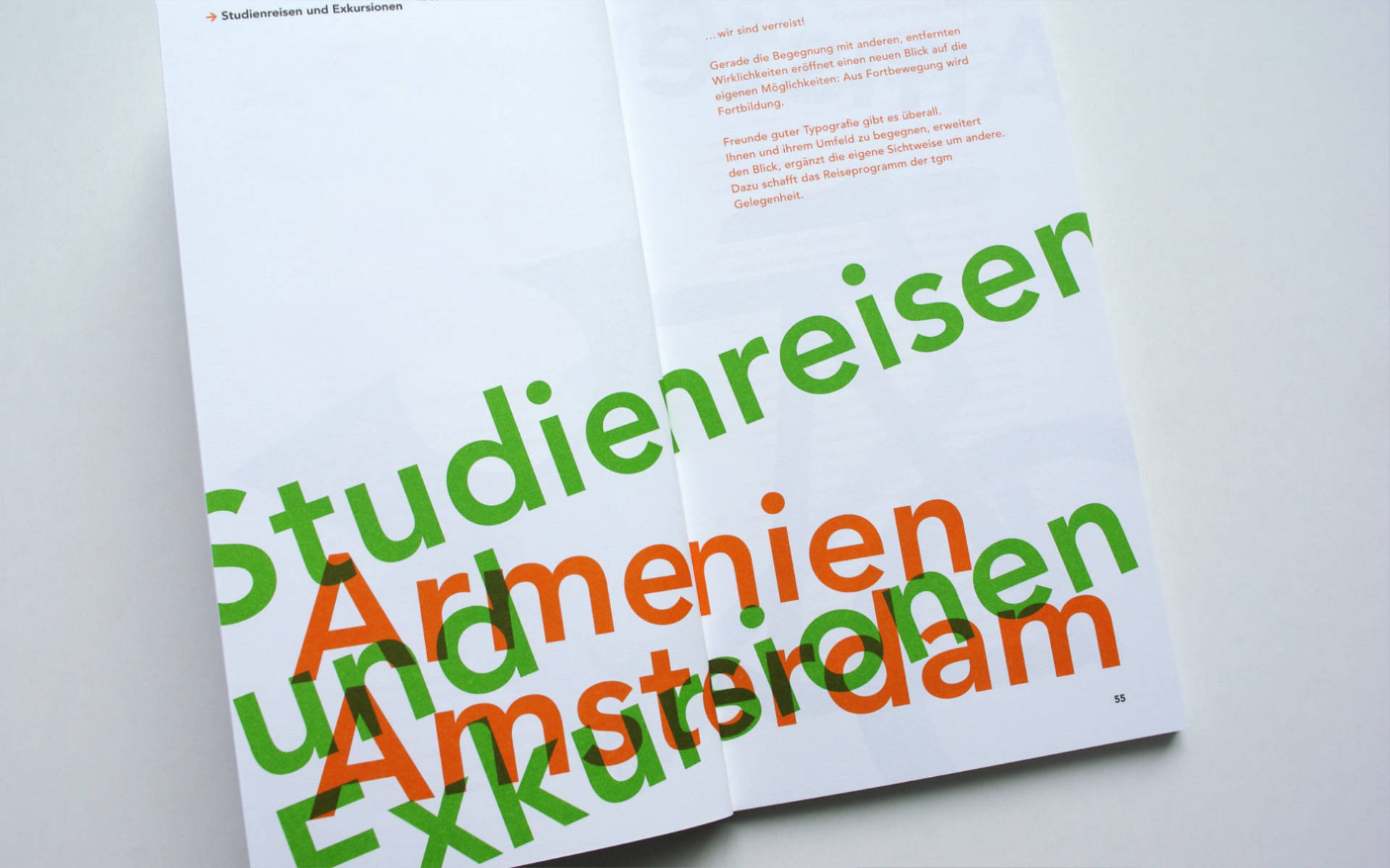 TGM Buchgestaltung Typografie Grafik Design