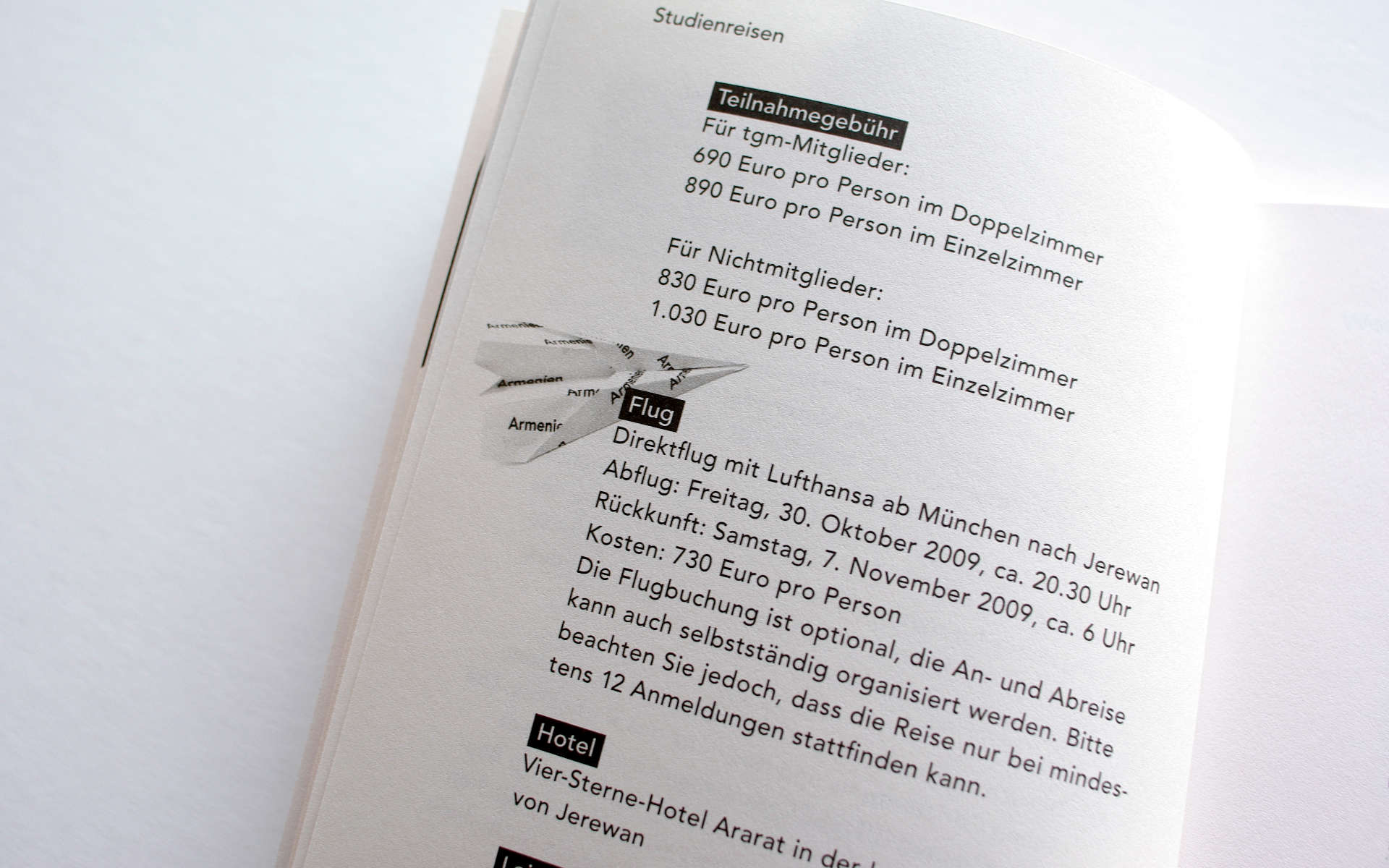 TGM Buch Design Berlin Typografie