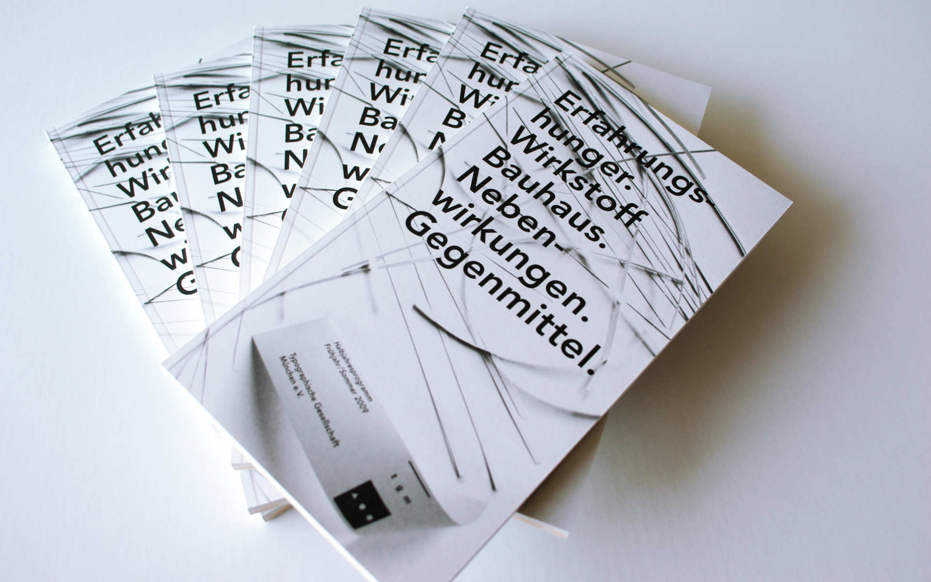 TGM Programm Buchgestaltung Berlin