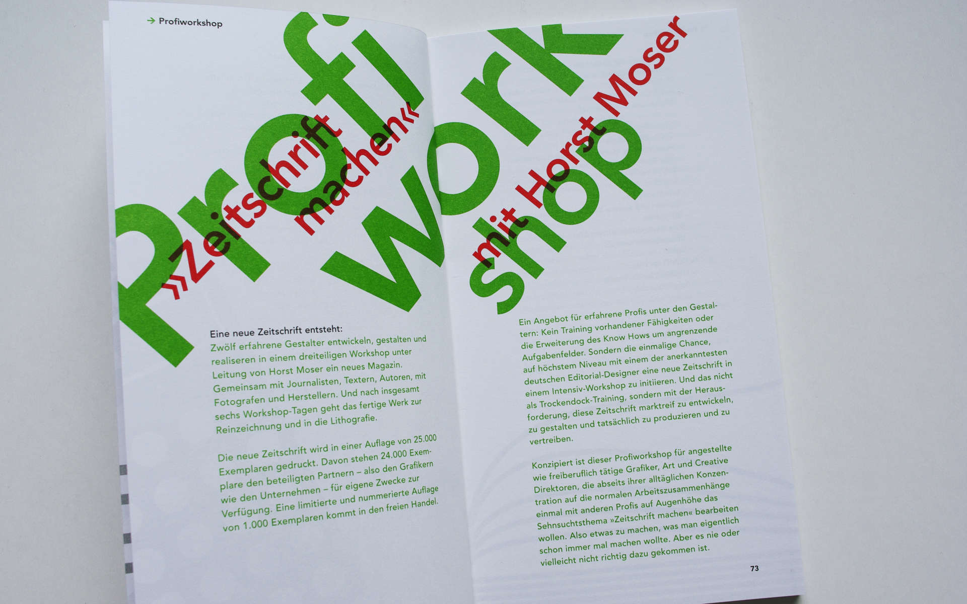 TGM Programm Design Grafik Design Berlin