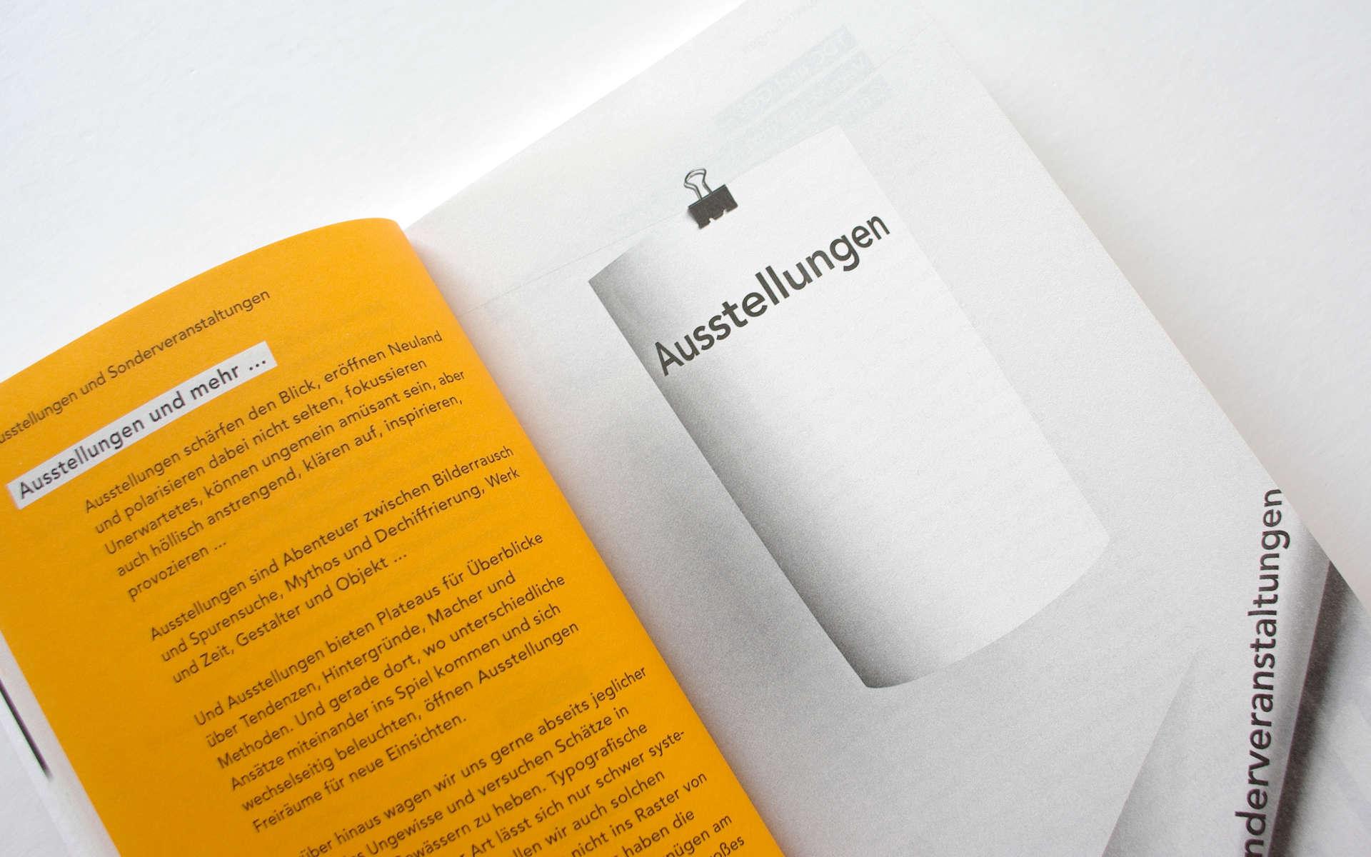 TGM Programmgestaltung Buch Design