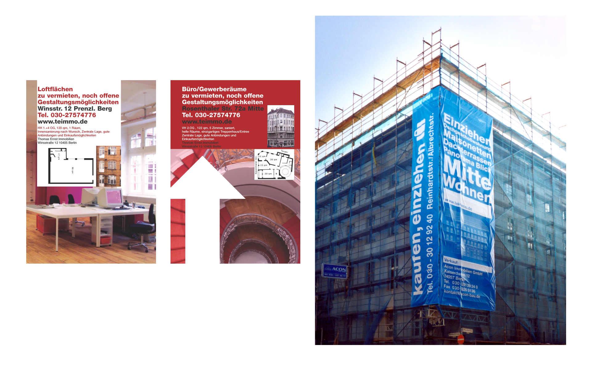 TE Immobilienvermarktung Werbung Berlin