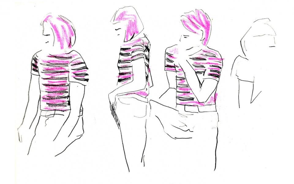 UV2 urban visual design Berlin Sketches Zeichnungen