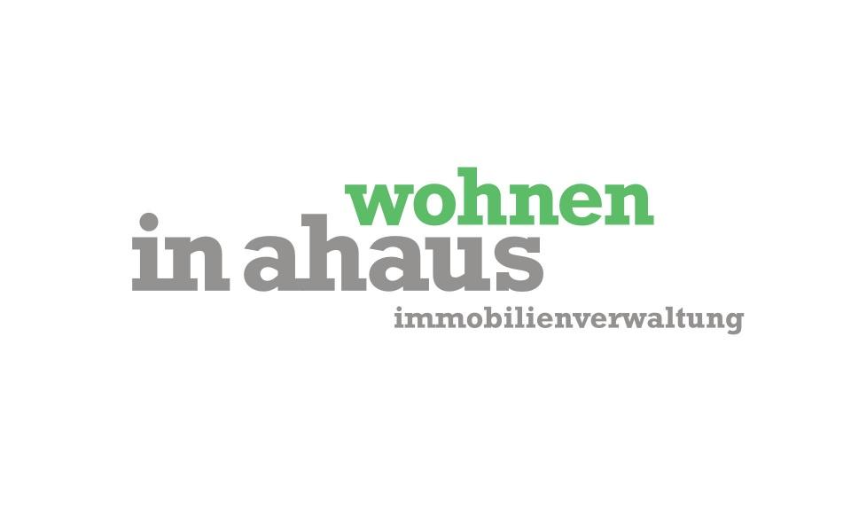 Wohnen in Ahaus Logo Signet Grafik Design
