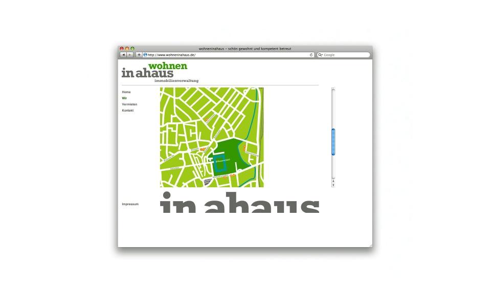 Wohnen in Ahaus Webgestaltung Webdesign CMS System
