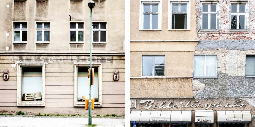 Fassaden Gestaltung Orientierung Beschilderung Berlin
