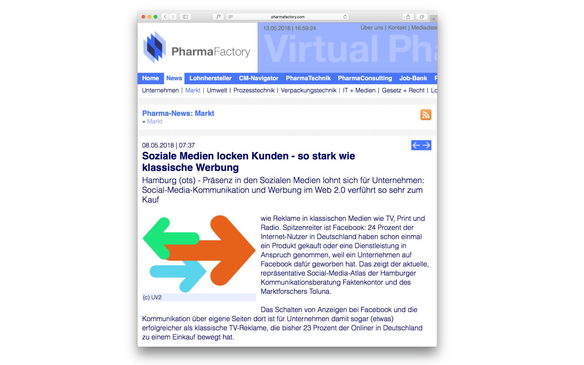 Lohnhersteller Website Webdesign Webgestaltung