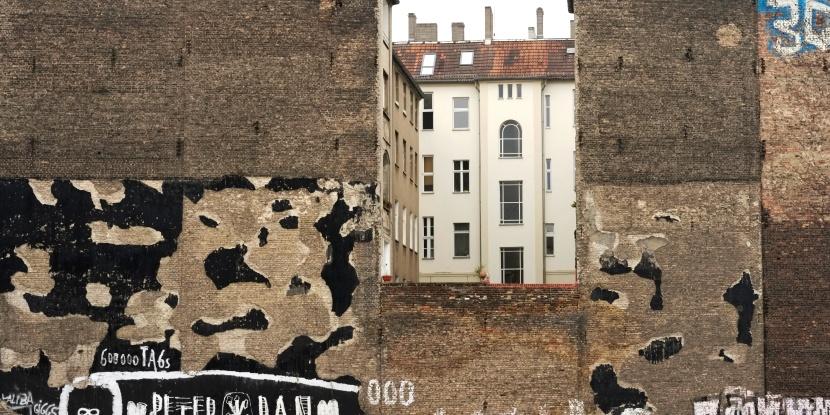 Grafik Design Berlin Orientierung Beschilderung Fassadengestaltung