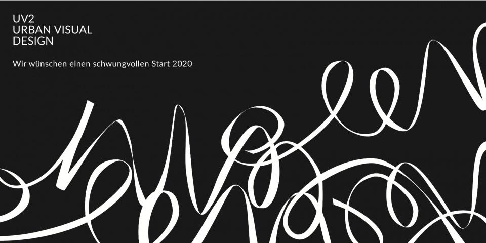 Grafik Design Berlin UV2 Typografie minimalismus