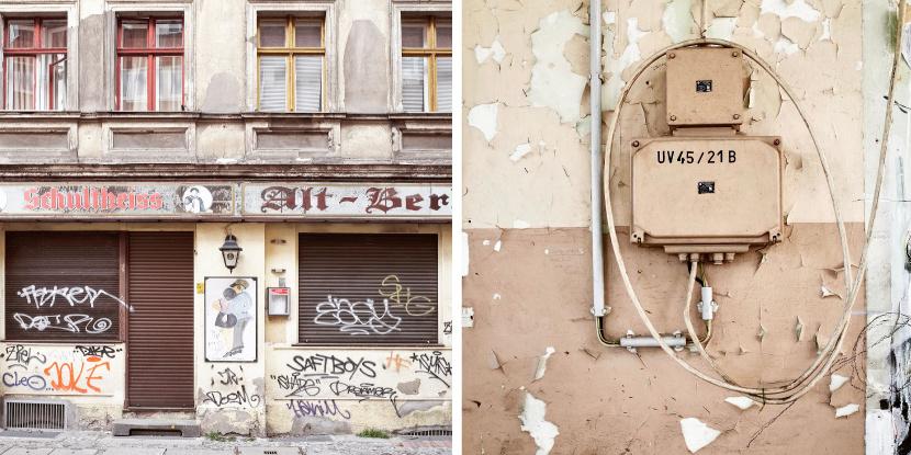 Fassadengestaltung Grafik Design UV2 Berlin Beschilderungen