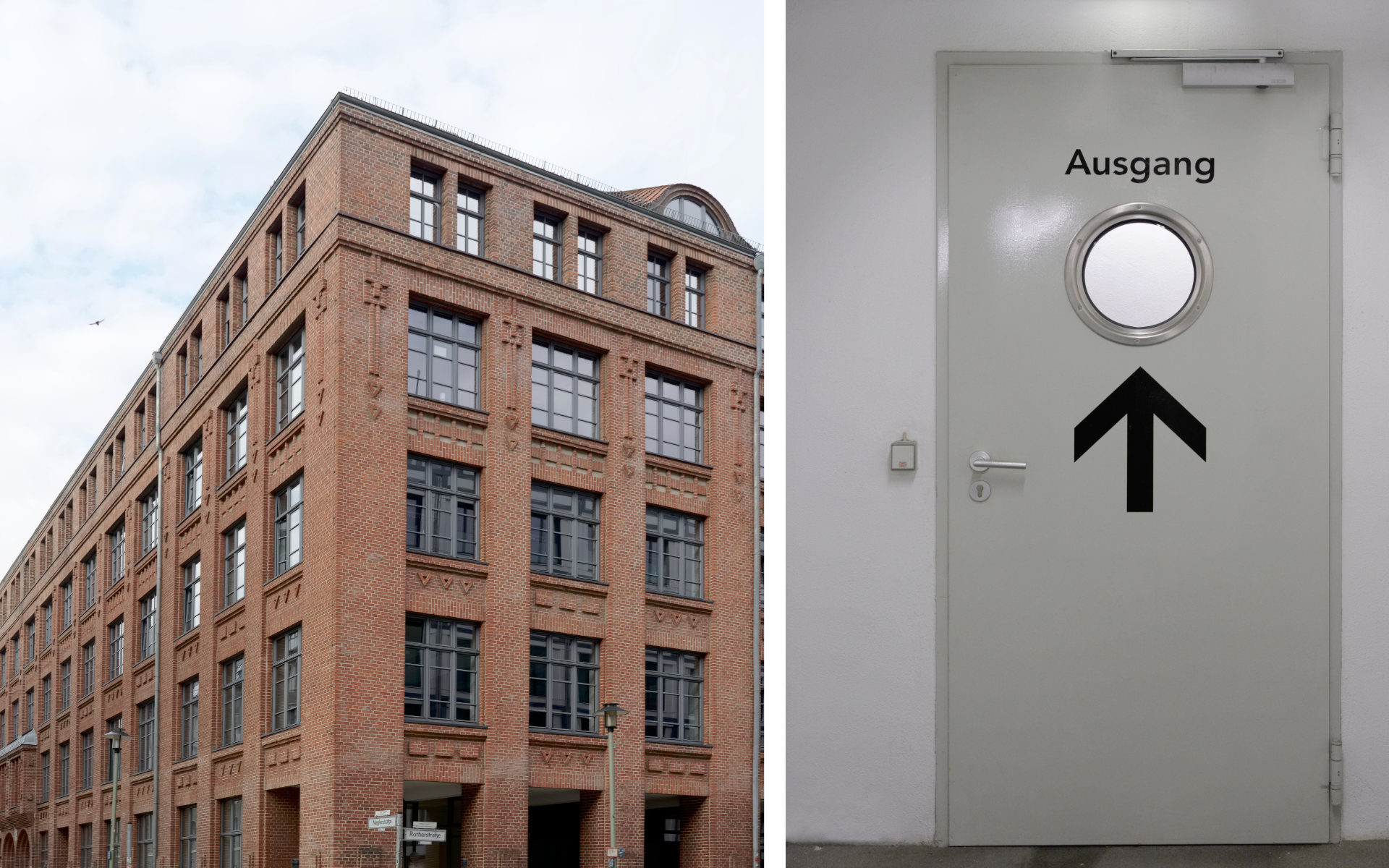 Oberbaumcity Denkmalschutz Parkleitsystem Buerohaus Beschilderung Leitsystem Parkgaragenbeschriftung Design Berlin