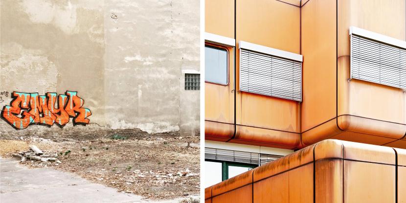 UV2 Grafik Design Berlin Beschilderungen Orientierung Architektur